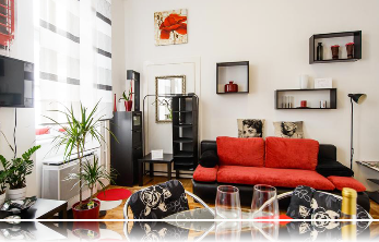 Red Pearl apartment for rent in Budapest